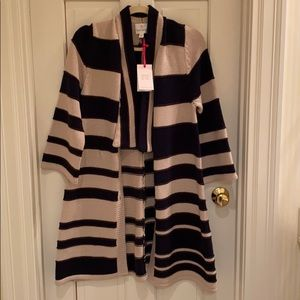 NWT Julie Brown striped sweater